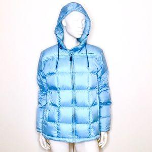Polo Ralph Lauren | y2k pale blue puffer jacket